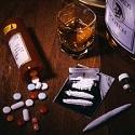 Prescription Pills, Cocaine, Marijuana, Alcohol