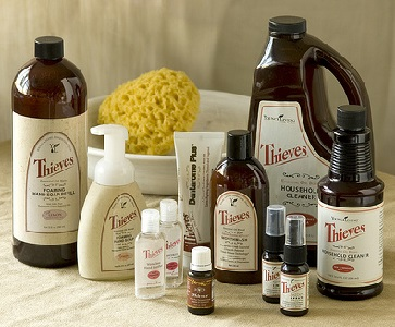 Thieves Young Living Essential Oil Products