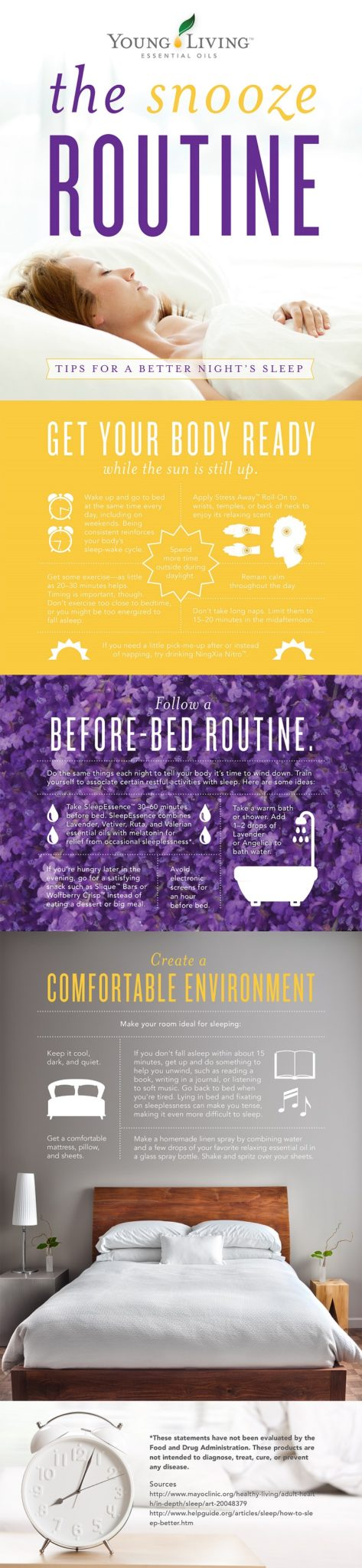 Get great sleep with Young Living Essential Oils