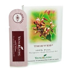 Thieves Young Living Essential Oil Sample