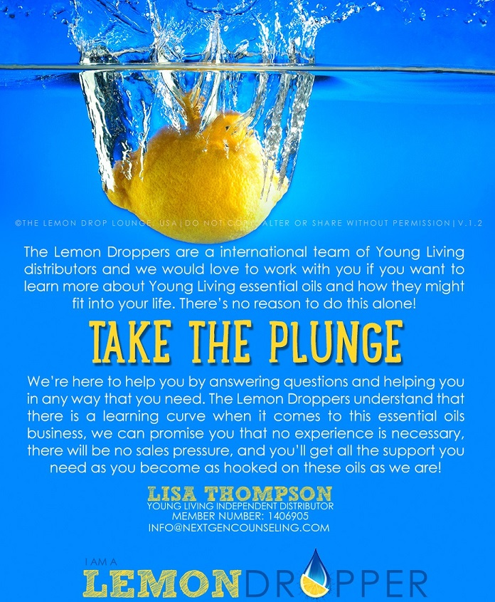 Young Living Lemon Drop Team